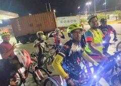 El CYCLING CLUB DE BOCA CHICA IMPLEMENTARAN LA RUTA NOCTURNA